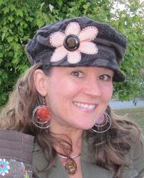 Isn't my hat cool?