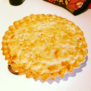 Soul-Satisfying Double-Crust Turkey Pot Pie fresh from the oven!