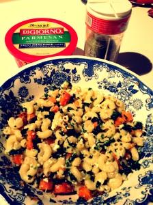 Delicious, nutritious Kale & Carrot Macaroni & Cheese!