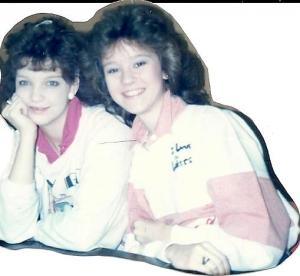Shelley & Tracy - Seniors at RCHS 1985-86