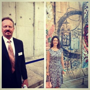 Berlin Wall - East Side & West Side